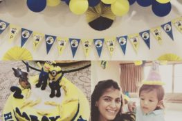 birthday kids theme minion diy