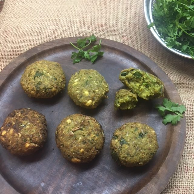 felafel chickpeas recipe middleeaster indian vegetarian