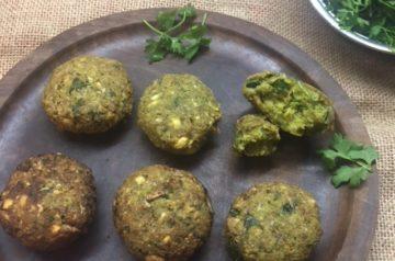 felafel chickpeas recipe middleeaster indian vegetarian